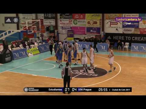ANGT Coin: U18 Movistar Estudiantes Madrid vs. U18 USK Future Stars Prague - Full Game