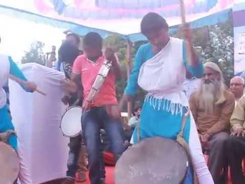 Mahila Munnade Kalathanda (Mandya) performing at Chalo Udupi 2016