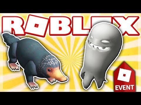 HOW TO GET THE NIFFLER & IMAGINARY COMPANION!! (Roblox HALLOWEEN EVENT 2018 - Escape Room!)