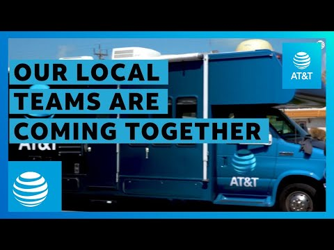 AT&T Hurricane Irma | AT&T Retail Teams in Key West Help Community
