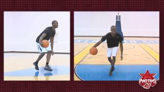 How to do the double crossover dribble. Featured Pro Tip of the week from Reggie Jackson