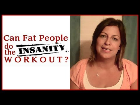 #3 CAN FAT PEOPLE DO THE INSANITY WORKOUT? – MONTH ONE RESULTS