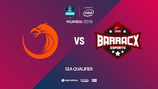 TNC Predator vs PG.Barracx, ESL One Mumbai SEA Quals, bo3, game 1 [Lex & Mortalles]