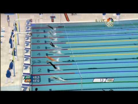 1st Gold [2008 Beijing Olympics] Swimming Men's 400m Medley.mp4