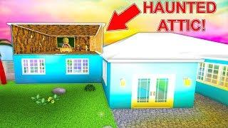 Video I Bought A Mansion With A Secret Haunted Attic... (Roblox) MP3, 3GP, MP4, WEBM, AVI, FLV April 2019