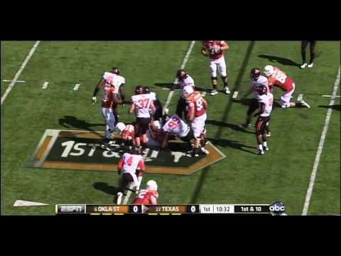 Justin Gilbert vs Oklahoma Texas & Baylor 2011 video.