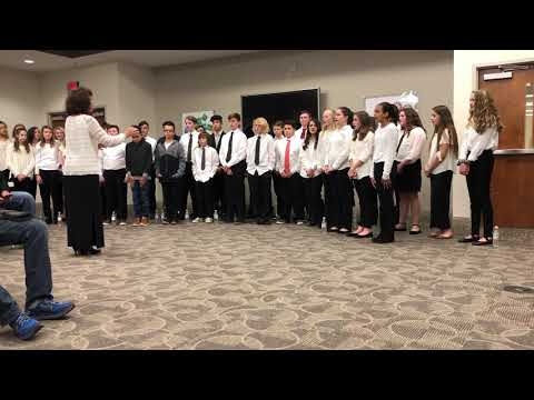 Video: Robinson Honor Choir performs