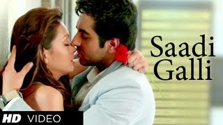 "Presenting a romantic video song ""Sadi Gali"" from upcoming fun comic film Nautanki Saala produced by T-Series Films & Ramesh ..."