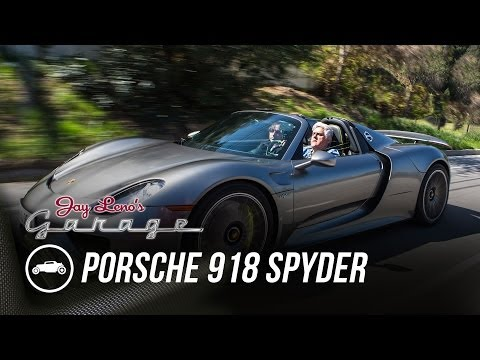 jay leno drives the porsche 918 spyder mind over motor. Black Bedroom Furniture Sets. Home Design Ideas