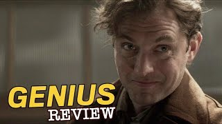 Jude Law, Colin Firth, Nicole Kidman in Genius - Film Review