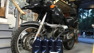 7. How to change the oil on a BMW R1150gs