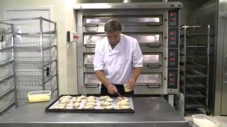 Proffesional demonstration of bread baking and pastry products in a test bakery with Steven Lamb. This was our first film shoot to advertise and demonstrate the ...