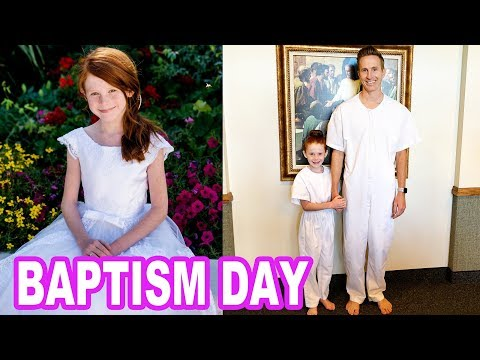 Ambree's Baptism (Emotional) Into The Church Of Jesus Christ Of Latter-Day Saints