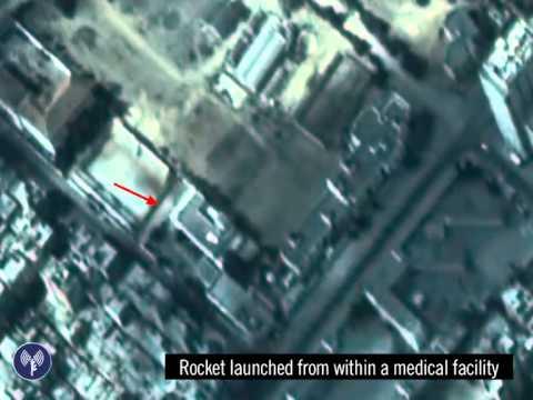 Le Hamas tire une roquette depuis un hôpital de Gaza