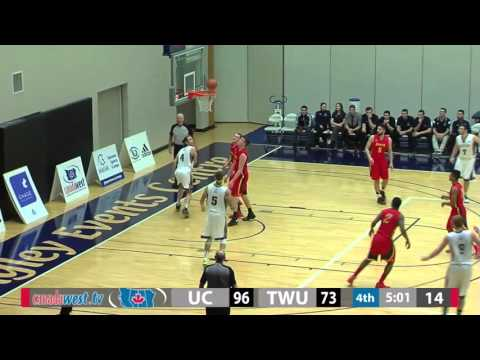 2016-01-22 TWU Men's Basketball Highlights vs Calgary