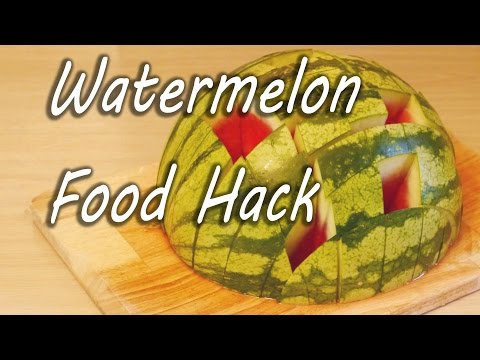 Prepare Water Melon and Serve