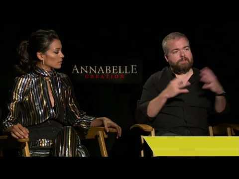 Annabelle: Creation Press Junket w/cast