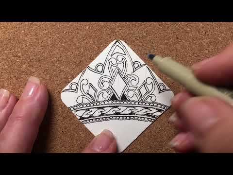 Zentangle® Project Pack #02 - Day Eight
