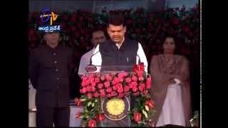 devendra fadnavis sworn in as a new chief minister of maharashtra