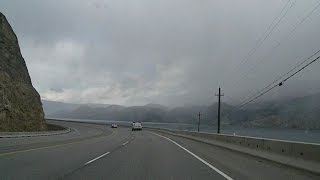 BC Highway 97 in the Okanagan Northbound - part 2 of 4 - time lapse