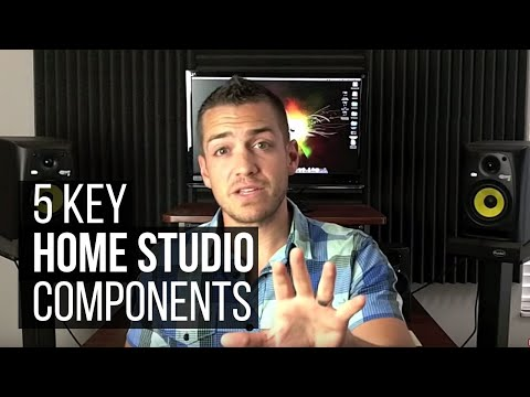 The 5 Key Home Studio Components – TheRecordingRevolution.com