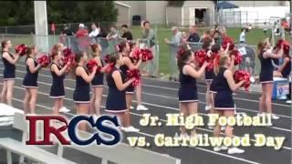 IRCS Jr. High Football Highlights - 9/22/11