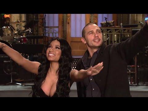 Nicki Minaj & James Franco's Saturday Night Live Promo!