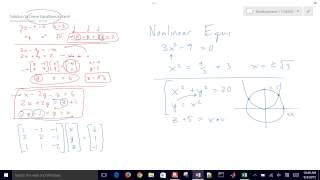 Solve Nonlinear Equations with Excel