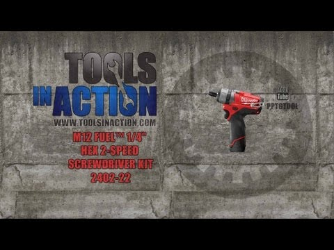 2402 - http://www.toolsinaction.com checks out the M12 FUEL brushless 1/4