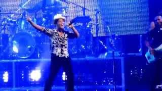 Bruno Mars Entrance At St Paul Minnesota June 21 2014 Concert