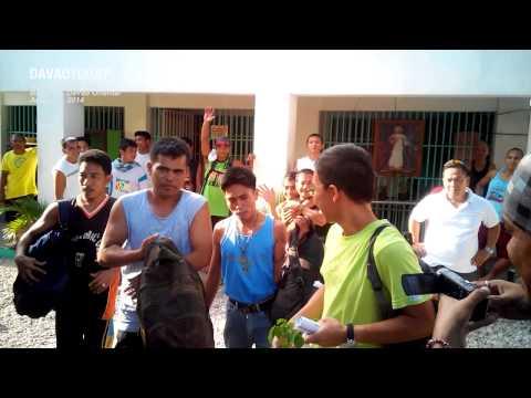 UP prof Kim Gargar bid fellow inmates goodbye
