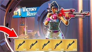 i won using ONLY the Mythic Charge Shotgun... (Fortnite Season 3)
