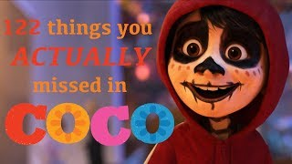 Video 122 things you ACTUALLY missed in COCO MP3, 3GP, MP4, WEBM, AVI, FLV Oktober 2018