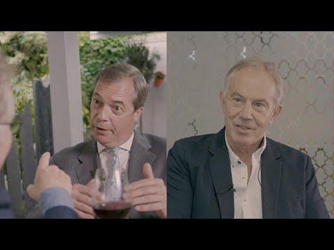 Nigel Farage versus Tony Blair: Brexit oder kein Br ...