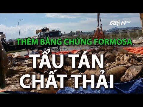 (VTC14) Thêm bằng chứng Formosa tẩu tán chất thải