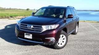 2013 Toyota Highlander SE Review On TXANN.com