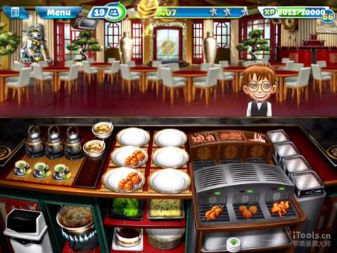 【Cooking Fever】Chinese Restaurant Level 40 (3 Stars)