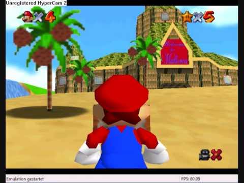Super Mario 64 hack - Mario and his vacances [Beta]