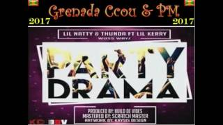 Video Lil Natty & Thunda ft Lil Kerry - Party Drama (Grenada Soca 2017) MP3, 3GP, MP4, WEBM, AVI, FLV Oktober 2018