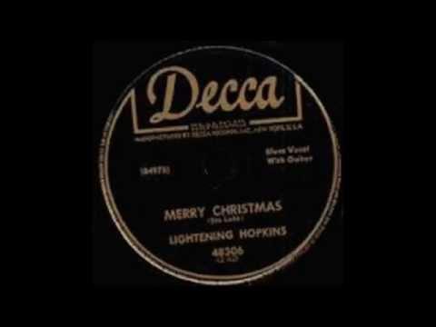Video Lightnin' Hopkins - Merry Christmas download in MP3, 3GP, MP4, WEBM, AVI, FLV February 2017