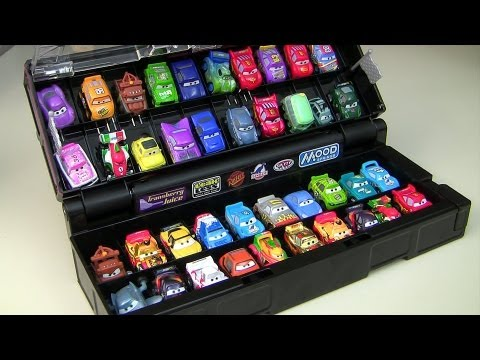 Micro Drifters Carry Case Display Stores 40 cars Disney Pixar Cars2 Storage microdrifters collection