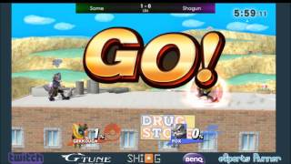 Some's Greninja with a great display against Shogun's Fox, from recent SHI-G tourney