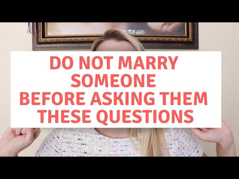 50 MUST-ASK Questions Before Marriage