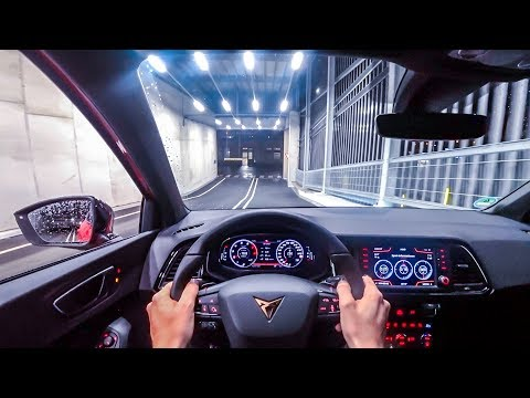 2019 Cupra Ateca Abt Edition (350ps) Night Pov Drive Onboard  (60fps)