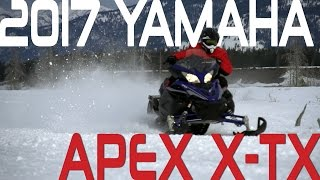 1. STV 2017 Yamaha Apex X-TX
