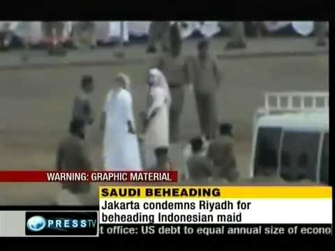Beheading Of An Abused Maid In Saudi Arabia