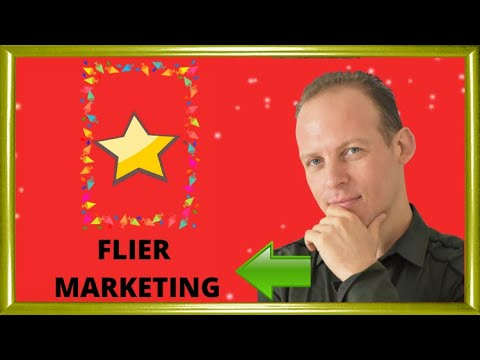 Marketing a business with flyers – strategies, tips and ideas