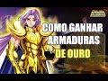 Saint Seiya Online - Como ganhar armaduras de ouro