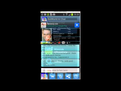 Video of Bot World AI Chat Friend