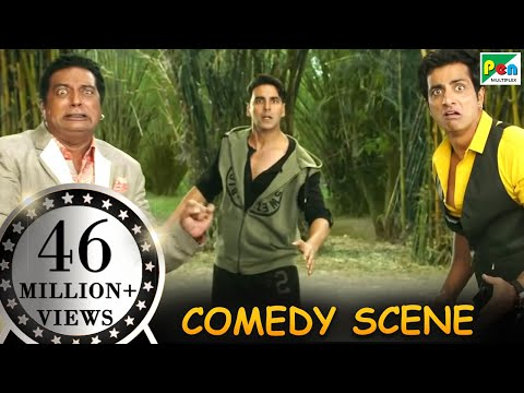 Play this video Dogs Fighting With Prakash Raj amp Sonu Sood- Comedy Scenes  Entertainment  Hindi Film